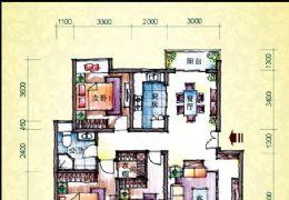 塞纳春天118平米3房南北通透双阳台仅售95万