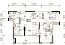 世纪嘉园119?正规三房、满两年、好楼层、125万