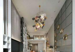 九铭广场精装复式公寓4.2米层高 精装交付
