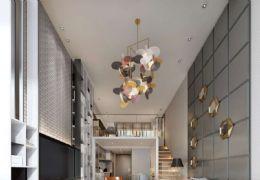 章江新区 精装修复式公寓 买1层用2层的使用空间