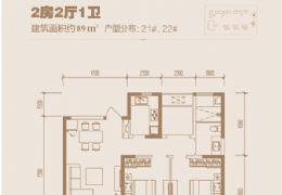 章江新区华润万象城幸福里通透两房仅售108万