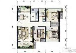 新区宝能城3房带400㎡独家大露台仅售135万