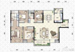 宝能城4室学区房、中间楼层、坐北朝南、看房方便