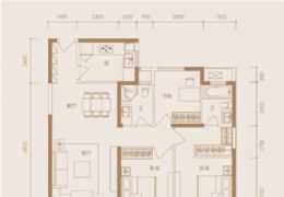 华润幸福里117平米3室2厅2卫出售