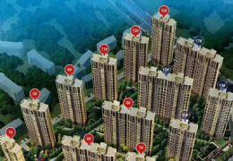 贛州開發區桃李春天三房大陽臺南北通透116萬出售