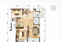 中盛,圣地亚哥97平米3室全新装修未入住诚意出售