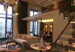 新区华润万象城旁边精装复式公寓 拎包入住 一线湖景
