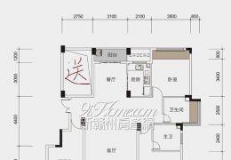 章江新区花园洋房4房2厅带大花园和地下室诚意出售