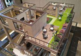 新九方沃尔玛~~中梁复式洋房~~5房带超大露台
