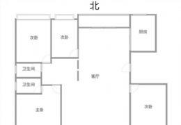 单位房——金源瑞都——通透4房(楼层好)202万