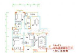 笋盘学区房 131平错层大3房 送小花园110万