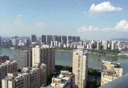 《中央星城》通透四房 ,全景落地窗!看江景156万