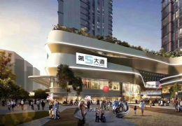 章江新区中心地段第五大道6.6层高复式公寓双层设计
