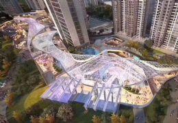 万象城旁首付50万6.6米层高复式带阳台高端公寓