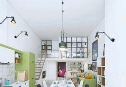 首付18万买35平精装修带家具家电复式公寓两房拎包