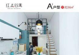 红点公寓45平米1室2厅2卫出售