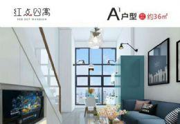 红点公寓55平米1室2厅2卫出租