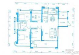 嘉福金融中心143平米4室2厅2卫出售