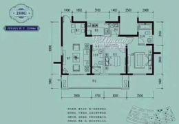 江山里超级笋盘106平两房可改三房仅售128万