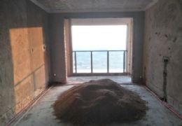 世紀嘉園129平3房,一線江景帶露臺,高樓層無遮擋