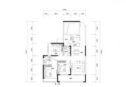 華潤萬象城旁,3+1四房,中間樓層,滿兩年僅150