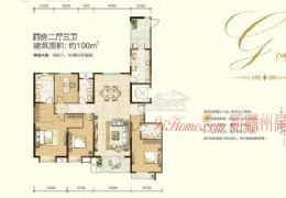 中海190平米4室2厅3卫出售11800/㎡