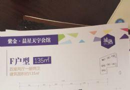 章江新区紫金晨星天宇公馆135㎡豪华装修四房 急售