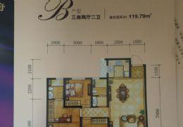錦繡新天地119平米3室2廳2衛出售