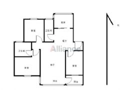 軒雅居139平米3室2廳2衛出售