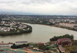 开发区全线江景房 江边高端物业圣地亚哥 特价两房急
