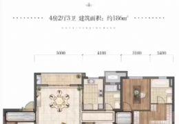 首付40万起购中海国际186平米4房~精装修拎包住