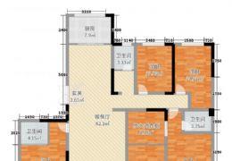 起点壹中心239平米5室2厅3卫出售