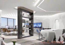 绿地城际空间站公寓47平米1室2厅1卫出售