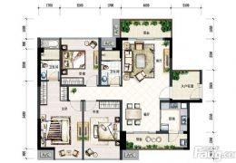 宝能城119平南北通透,双阳台,20楼,1W2单价