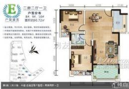 稀缺户型,南北双阳台,正规四房 仅售120万