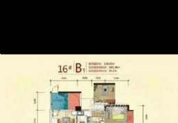 山与城正规三房,业主急售,单价仅售1万