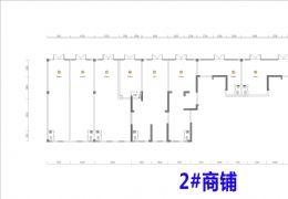 【保利联发康桥】9.6米大门面,社区大门口第三间铺