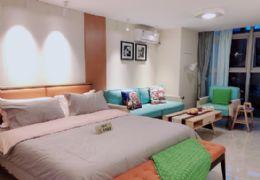 万象城5米层高复式公寓 可做独立两套 双份租金收益