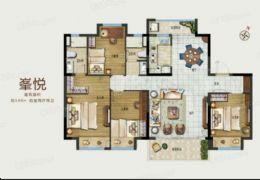 正荣悦玺140平米4室2厅2卫出售