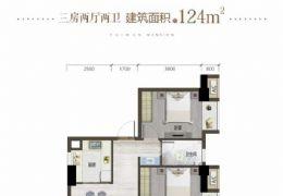 章江新區99平3房,一手房免中介費帶看,高性價比