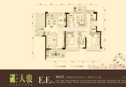 美地亚天骏●黄金楼层●五房两厅●诚意出售180万