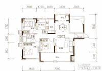新区1.1万单价125平米4房仅售140万南北阳台