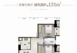 章江新区126平米3室2厅2卫仅售110万!!