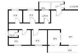 章江新区 江山里 全线江景4房2厅 178平 纯板
