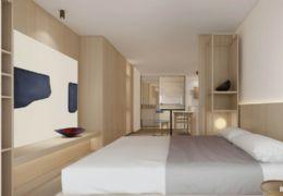 章江新区中创派克公寓买一层送一层楼下沃尔玛花生唐