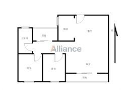 ★章江新区★水游城★中心位置★品质3房★122万★