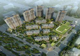 中海凯旋门143平4房185万,带150平大露台!