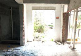 海亮天城叠墅 一楼前后花园送地下室 包一个车位 只