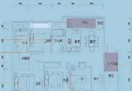 江山里142平3+1房,单价1.3万,江景房