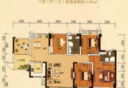 章江新区 城央一品 毛坯4房 仅售9500/元
